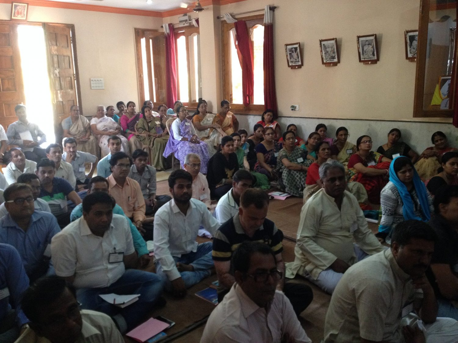 Spiritual Retreat At Ambikapur 10 Apr 2017 Ramakrishna